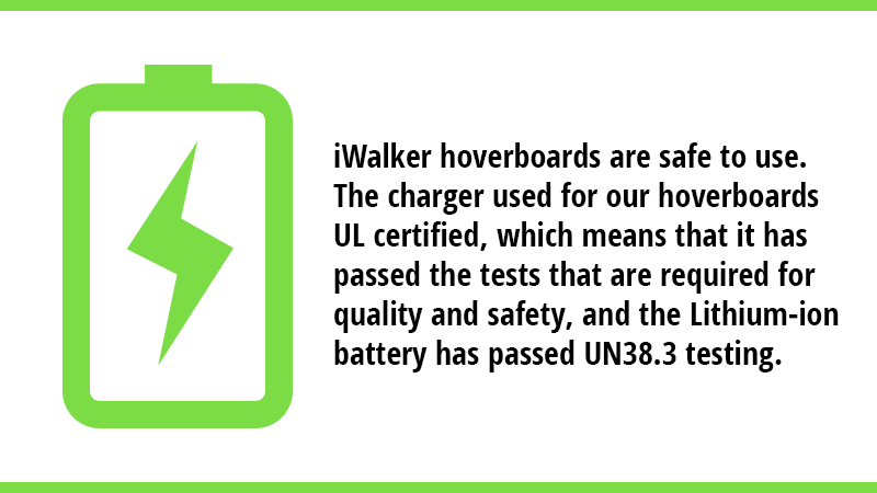 Our charger is UL certified, which means that it has passed the tests that are required for quality and safety